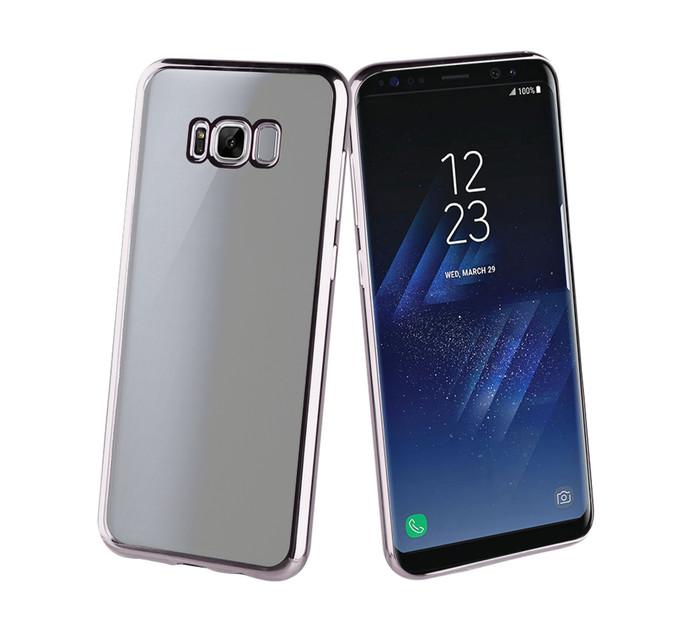 MUVIT Bling Case for Samsung S8 Plus Titanium