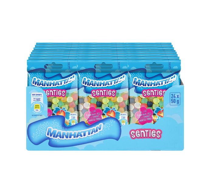 MANHATTAN Mini Prepacks Mini Scenties (24 x 50g)