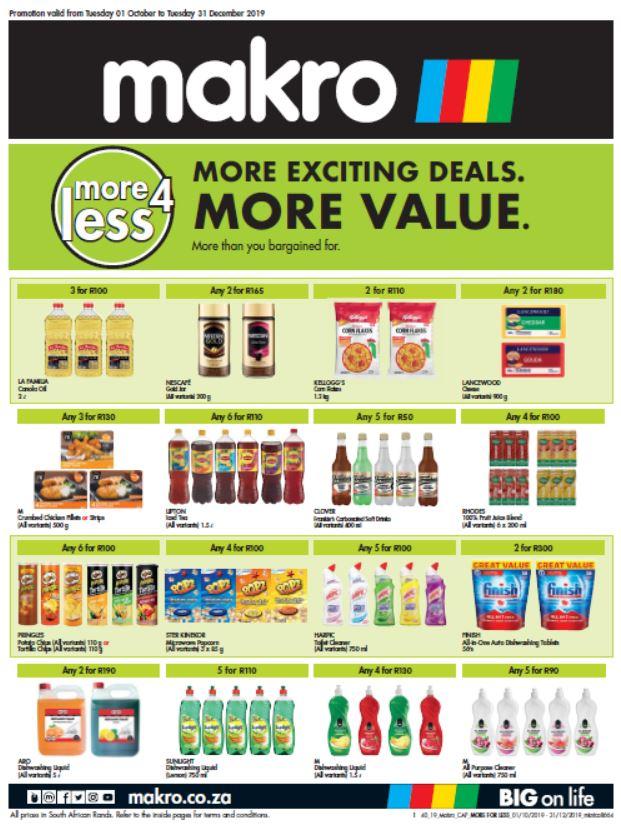 makro 100 deals rand days