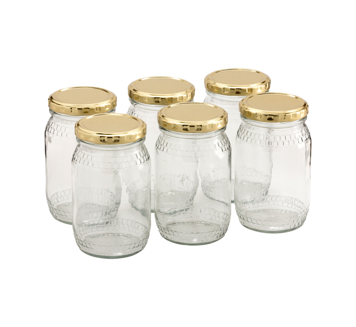 CONSOL 6 Pack Honey Jar