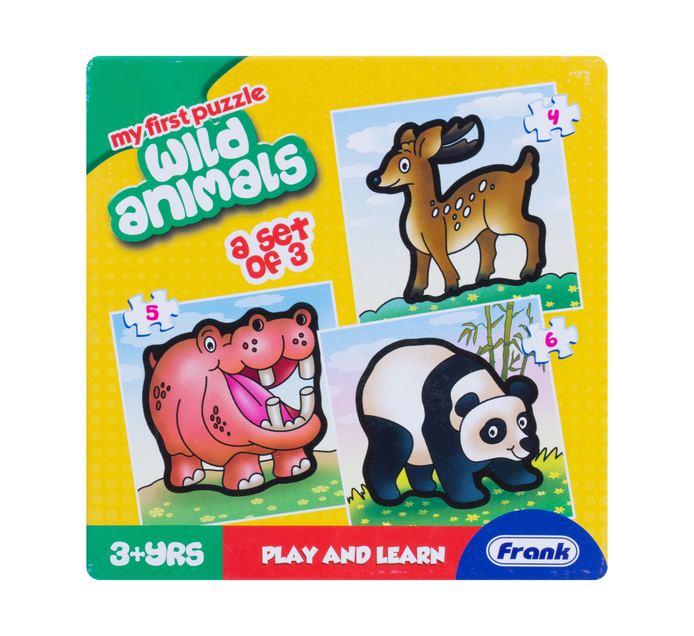 Kiddies First Puzzles 3 in 1