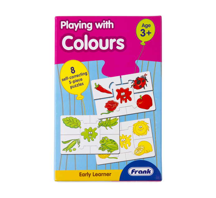 FRANK Early Learning Playing with Colours