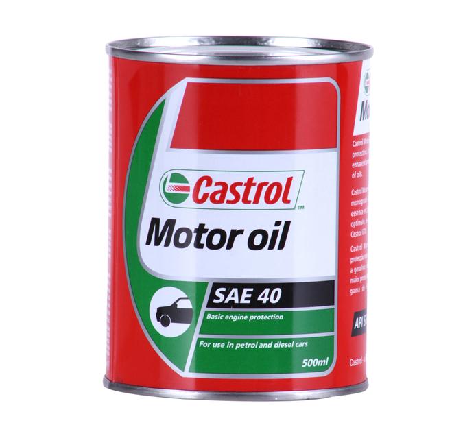 CASTROL 500ml Motor Oil 40