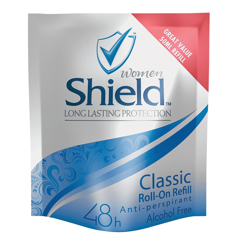 Shield Roll On Refill Sachets Classic (6 x  50ml)