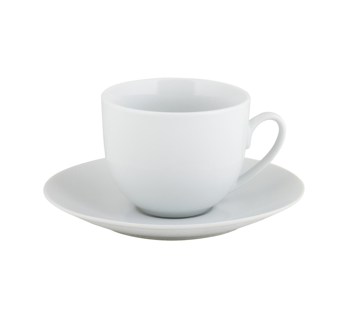 PRIMARIES 8 Piece Coupe Cup and Saucer Set
