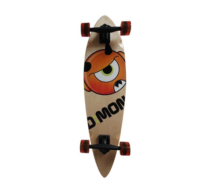 "D=MON 38"" Pin Tail Longboard"