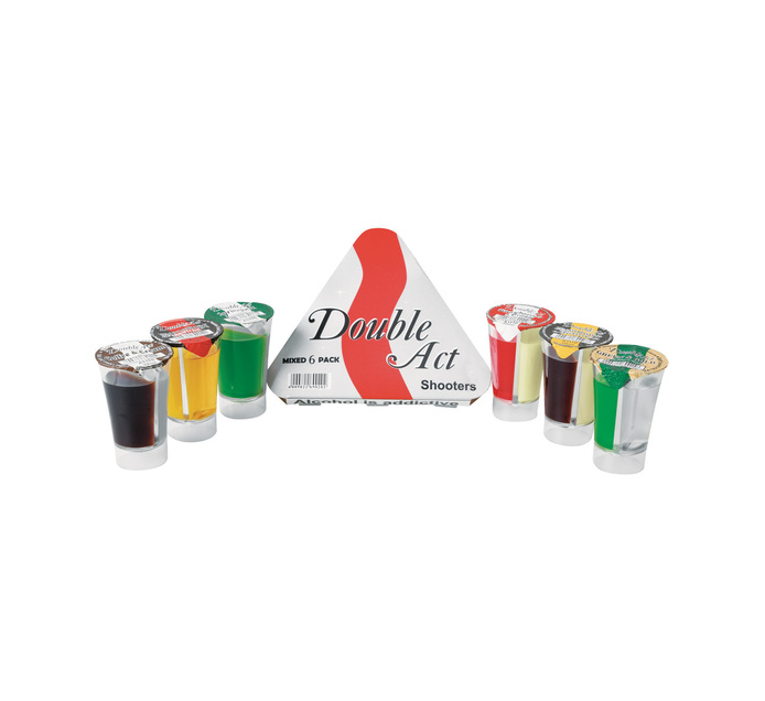 DOUBLE ACT Multi Flavour 6 Pack (6 x 30ml)