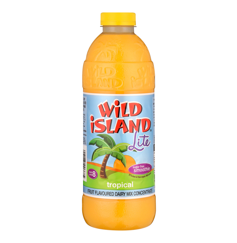 Wild Island Smoothie Lite Tropical Pu (12 x 1lt)