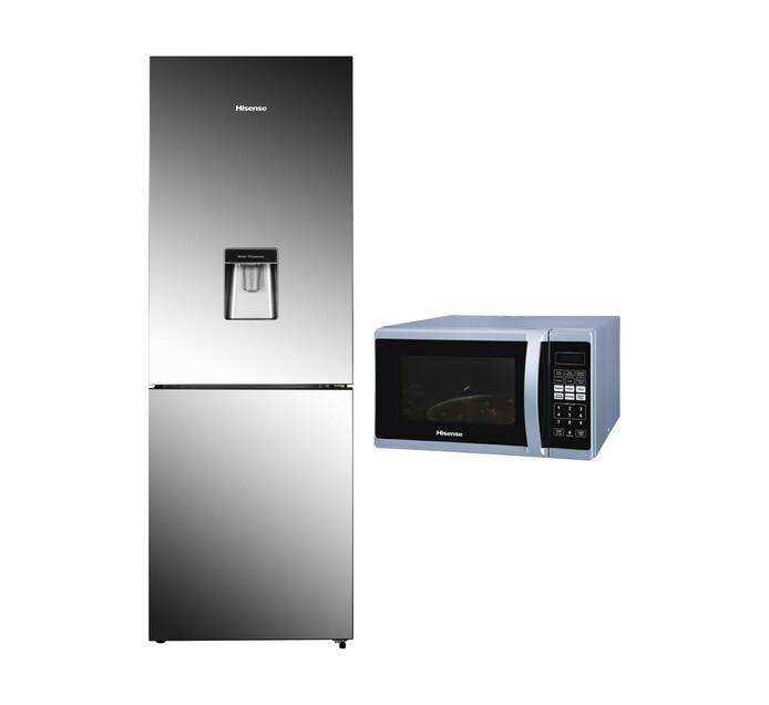 HISENSE Combi Fridge/Freezer with Microwave