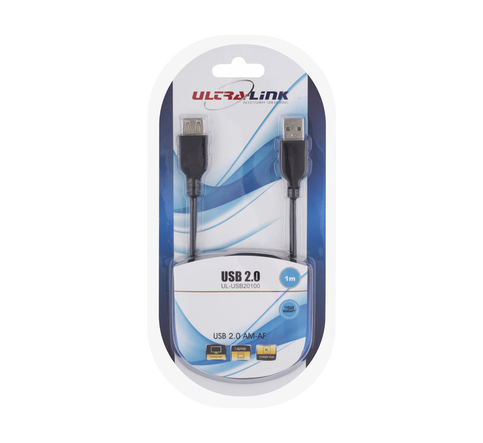 ULTRA LINK 1 m Male-to-Female USB Extension Cable