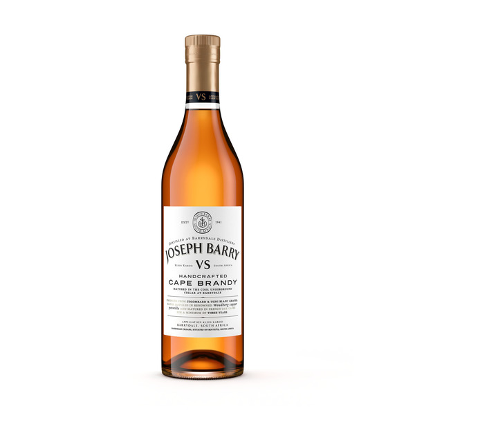 JOSEPH BARRY VS Handcrafted Cape Brandy (1 x 750ml)
