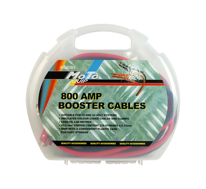 MOTO-QUIP 800Amp Booster Cables