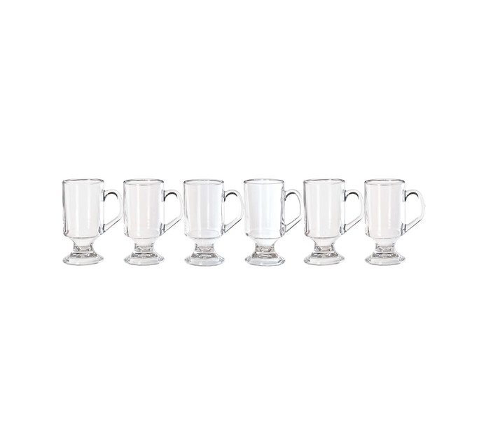 ARCOROC 6 Pack Footed Coffee Mug