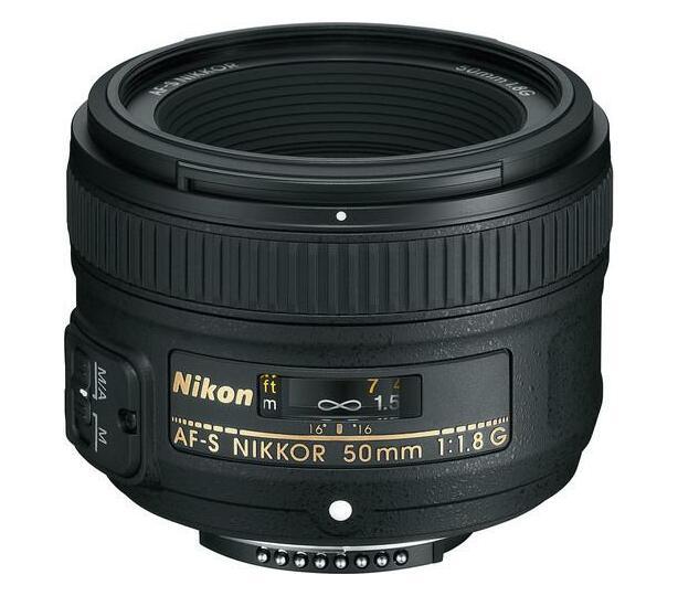 Nikon AF-S 50mm f/1.8 G Lens