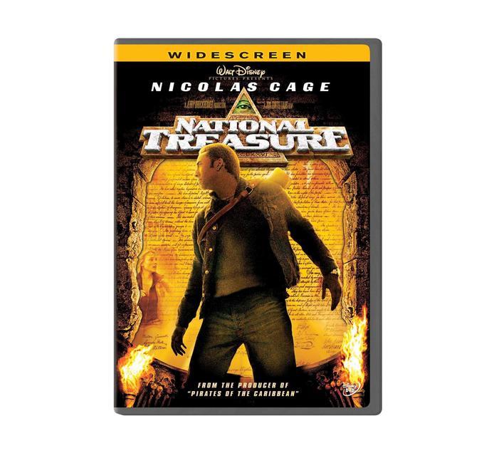 National Treasure Dvd