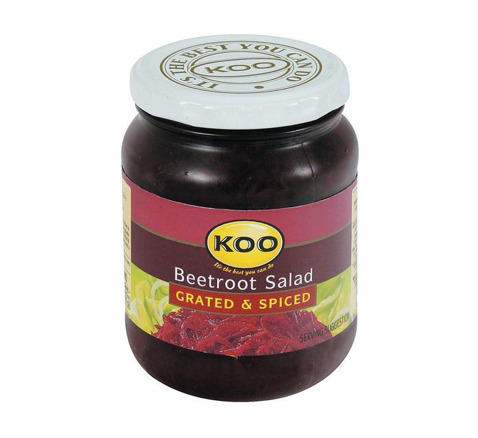 KOO Beetroot Grated (12 x 405g)