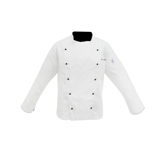 BAKERS & CHEFS Small Executive Chef Jacket White