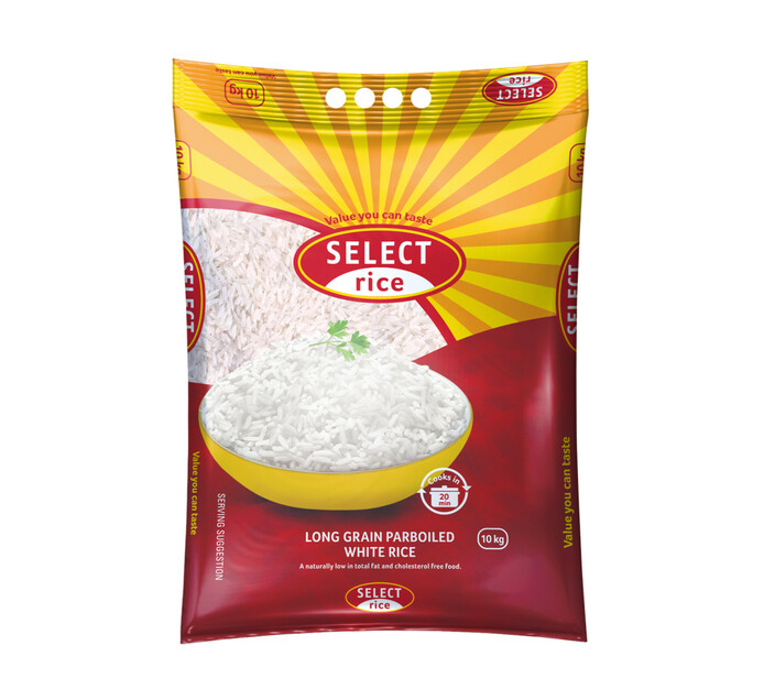 SASKO Select Rice (1 x 10kg)