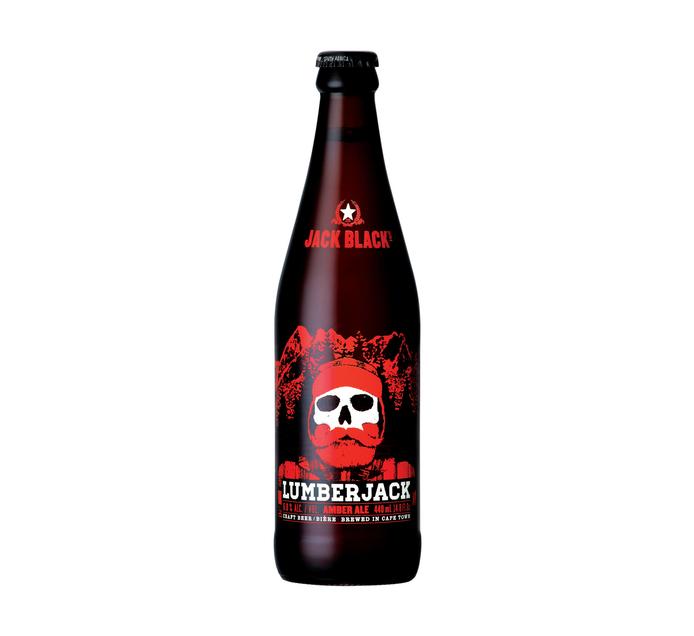 JACK BLACK Lumberjack Amber Ale (1 x 440ml)