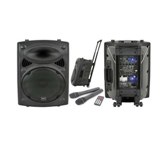 Portable Sound System with PA