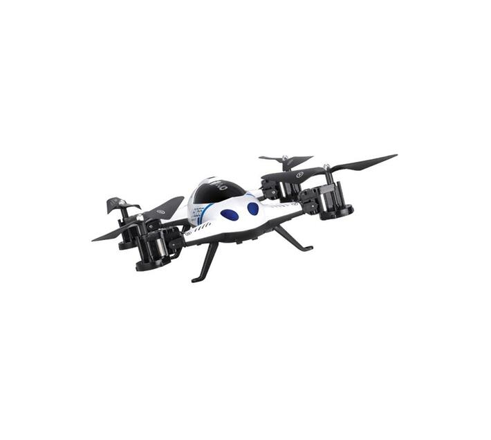 Lishi Toys L6055 2-In-1 Drone And Car (White)