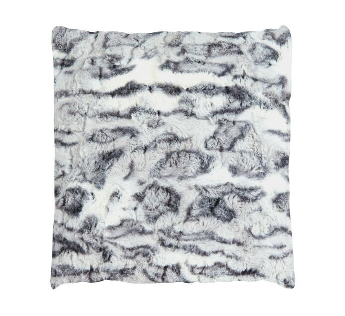 HOME LIVING 50 cm x 50 cm Montreal Faux Fur Cushion