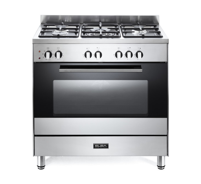 ELBA 800 mm 5-Burner Gas/Electric Stove