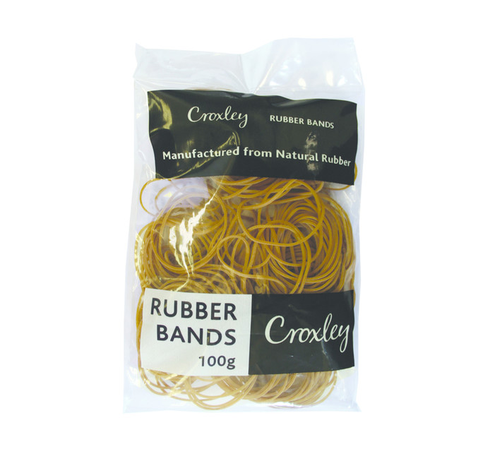 CROXLEY NO.32 Rubber Bands 100's