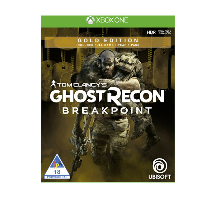 XBOX ONE Ghost Recon Breakpoint Gold Edition - Available 01 October 2019