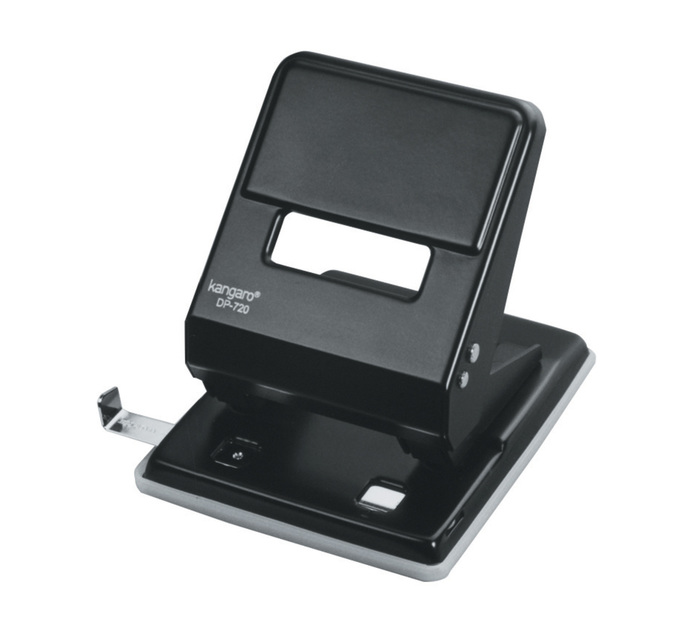 KANGARO DP720 2 Hole Punch Black Each Black DP720