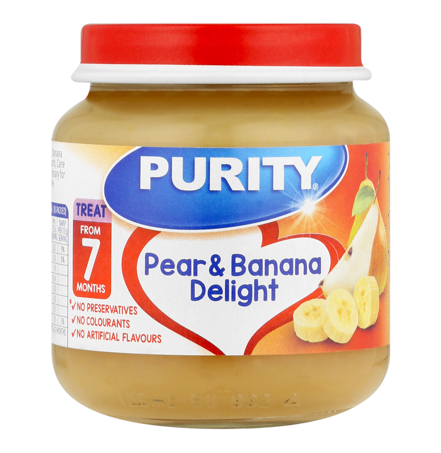 Purity 2nd Foods Pear and Banana Delight (1 x 125ml)