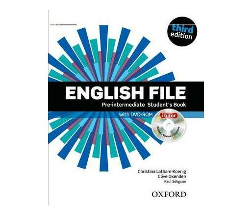English File third edition: Pre-intermediate: Student's Book with iTutor : The best way to get your students talking
