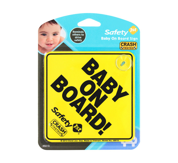 SAFETY FIRST 1pce Baby on Board