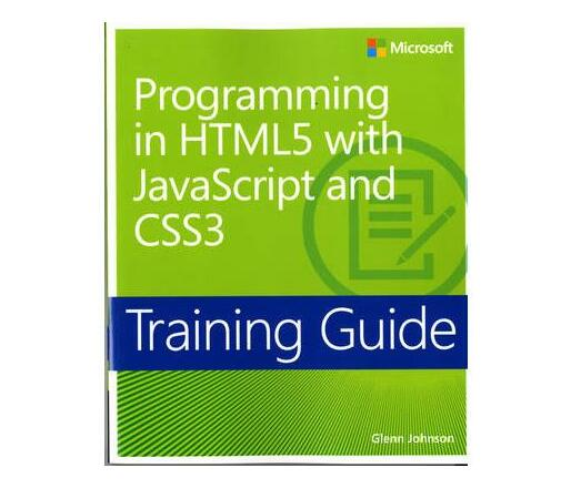 Programming in HTML5 with JavaScript and CSS3 : Training Guide