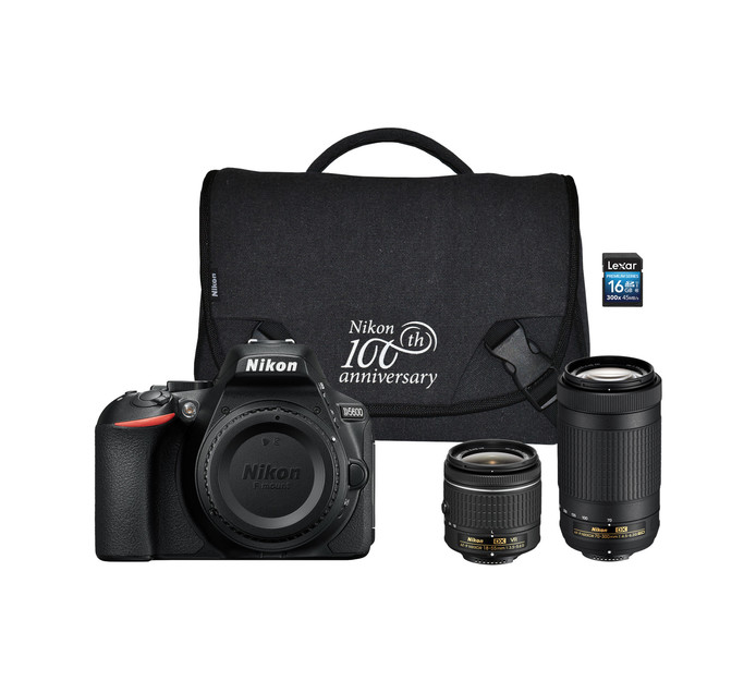 NIKON D5600 DSLR Twin Lens Camera Bundle
