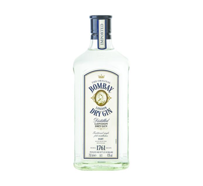 BOMBAY Original Imported London Dry Gin (1 x 750ml)