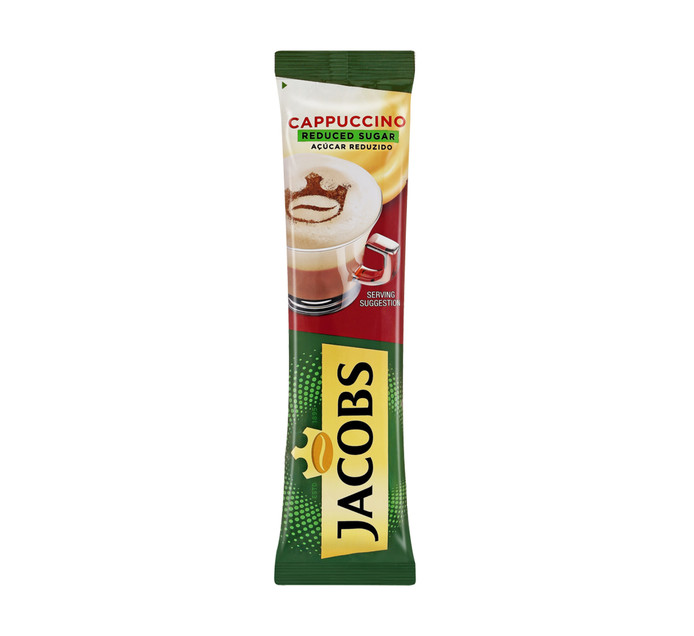 JACOBS KRONUNG Coffee Sticks Cappuccino Unsweetened (10 x 18.6g)