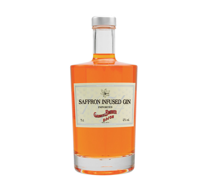 GABRIEL BOUDIER Saffron Infused Imported Gin (1 x 750ml)