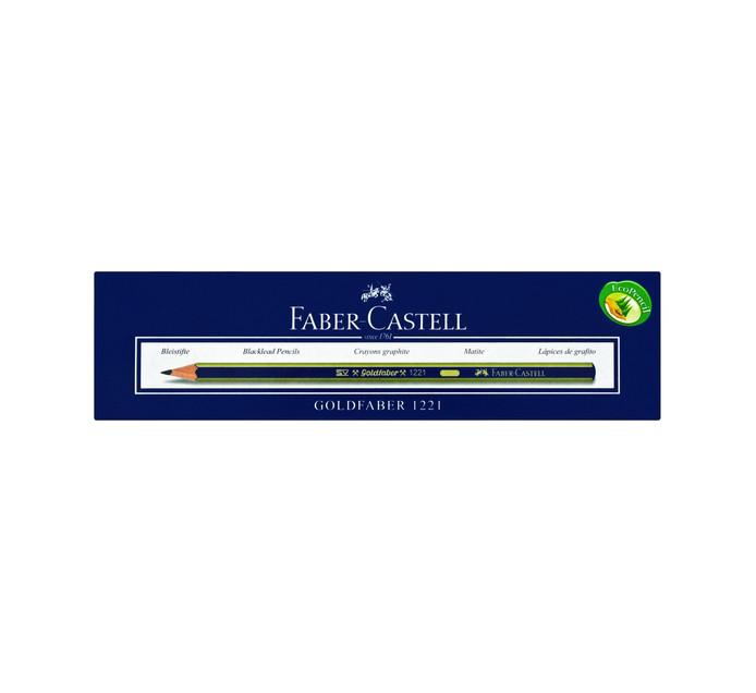 FABER CASTELL H Goldfaber Pencils 12-Pack