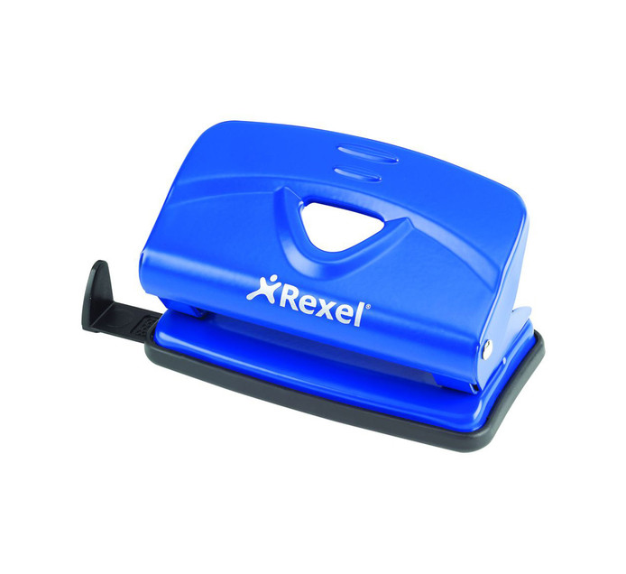REXEL V210 Light Duty Punch Blue Each Blue