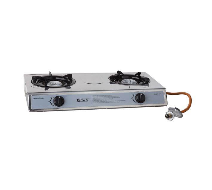 2 Burner Gas Stove Includes Regulator And Hose