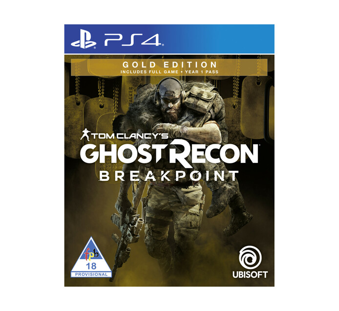 PS4 Ghost Recon Breakpoint Gold Edition -Available 01 October 2019