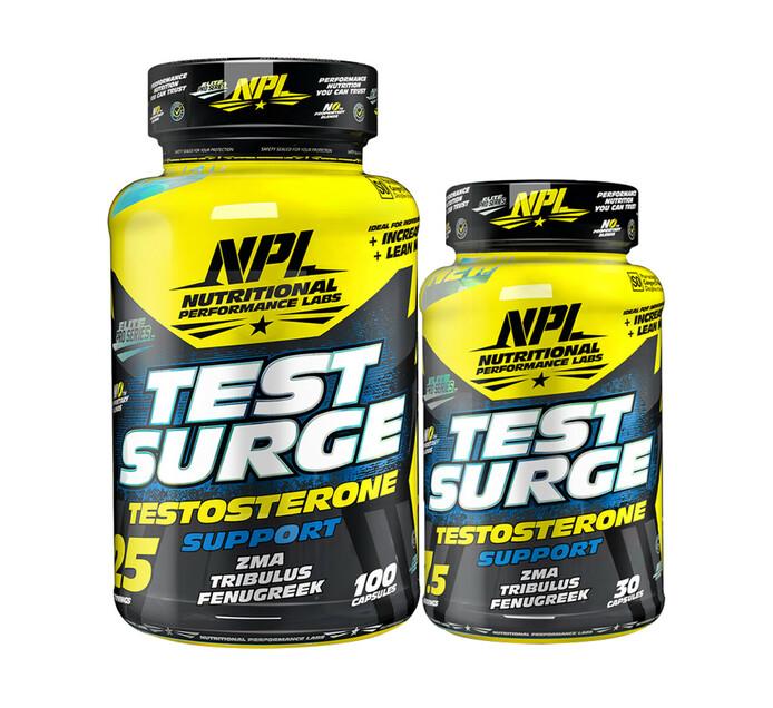NPL 100' s + 30' s Test Surge