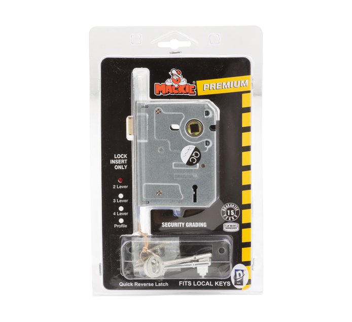 MACKIE 2 Lever Security Mortice Lock