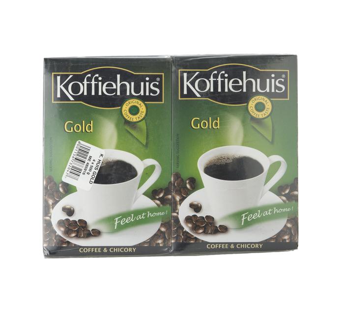 KOFFIEHUIS GOLD GROUND COFFEE 500G