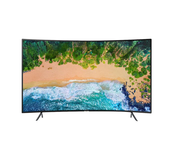 "SAMSUNG 55"" SMART CURVED UHD LED TV(NU73"
