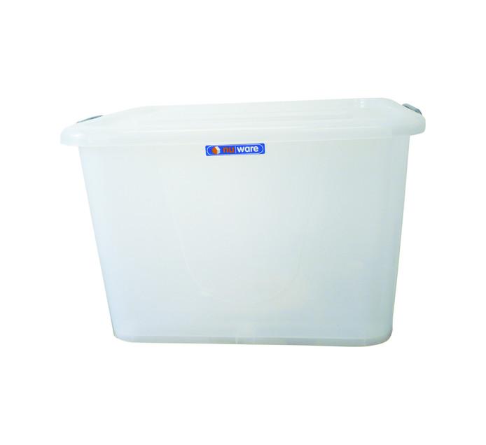 NU WARE 150 l Storage Box with Lock Lid & Wheels
