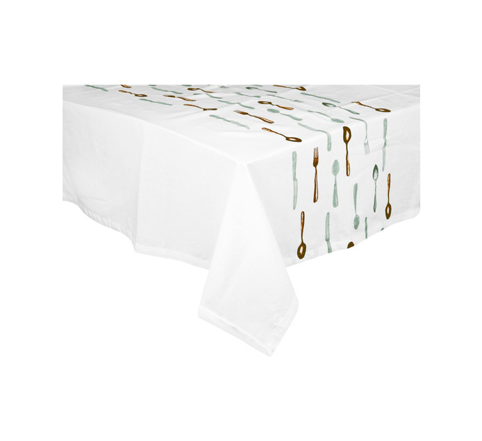 140 cm x 180 cm Cutlery Tablecloth