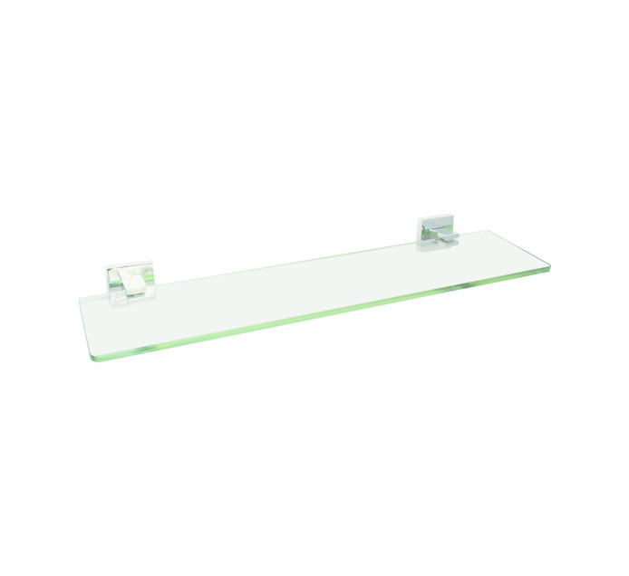 WILDBERRY 500 mm x 125 mm Glass Shelf