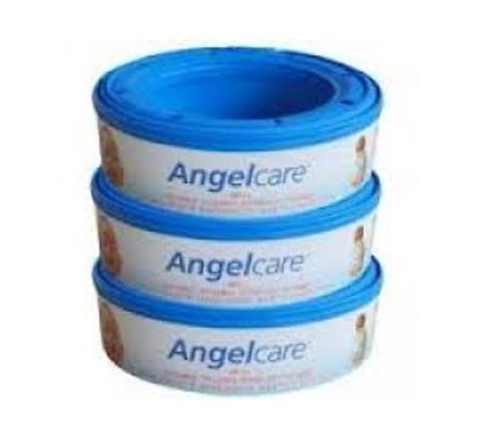 ANGELCARE 3pk Nappy Bin Refill